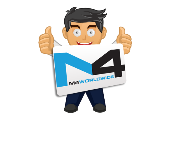 M4 Worldwide logo